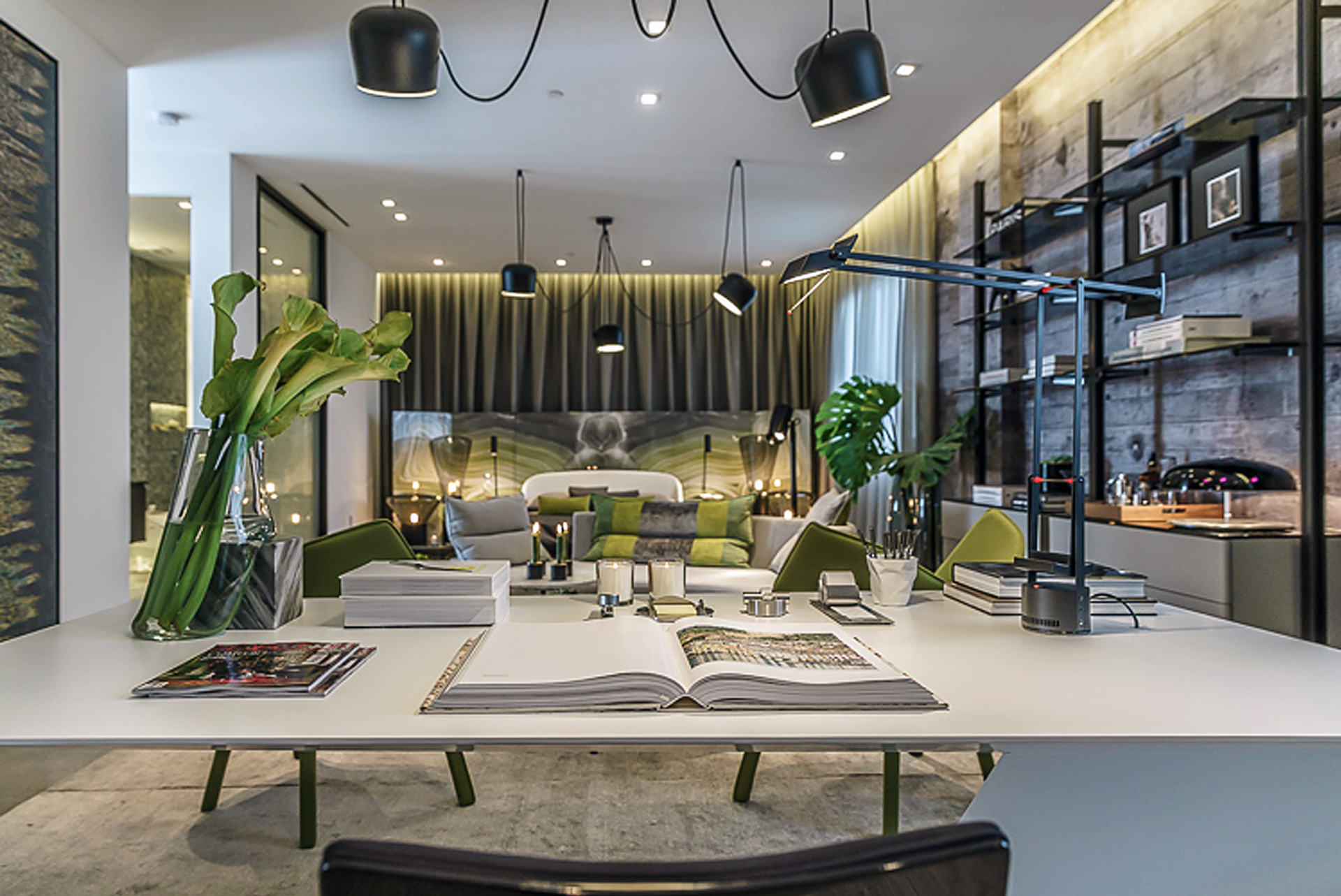 By gregory robin alex turco pepe cavalieri and renato freitas lighting by lumens carpet the rug company fabric cowan and tout drapery by espinosa