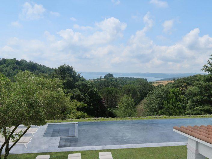 LAKE HOUSE BRACCIANO LAKE ITALY - LA CALANDRINA